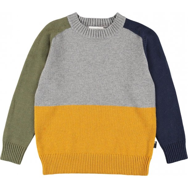 Molo Buzz Colourblock Strik Sweatshirt