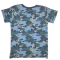Sofie Schnoor T-shirt NYC Camo Middle Blue