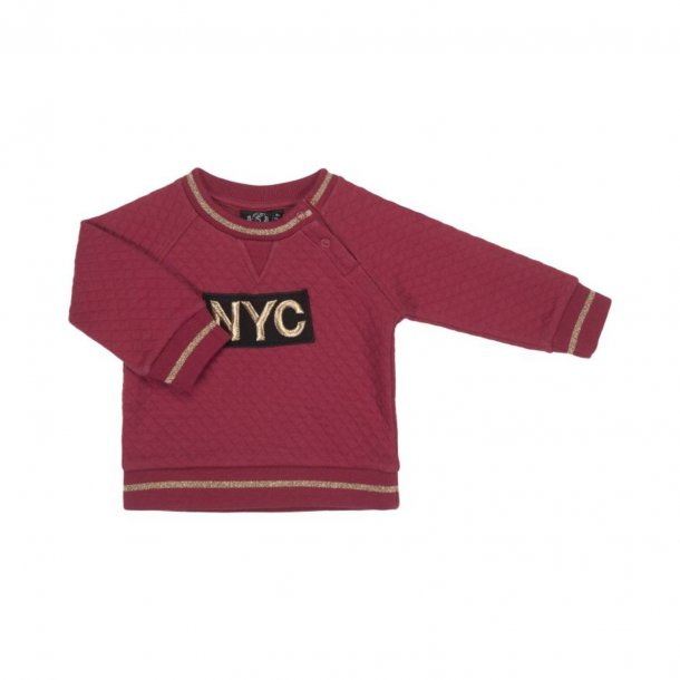 Sofie Schnoor NYC Sweatshirt Earth Red
